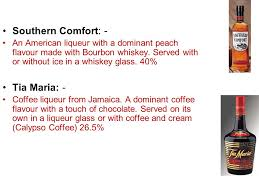 Southern Comfort Whiskey Or Bourbon Drinks Etiquette Know Your Drinks Ppt Download