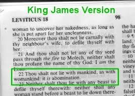 homosexuality in the bible what does the bible say throughout