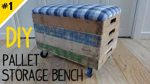 build a stackable pallet crate storage bench part 1 of 2 youtube