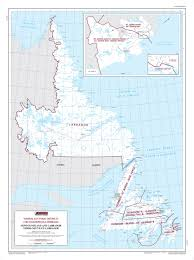 Newfoundland Canada Map by Map Of Newfoundland And Labrador Elections Canada Online
