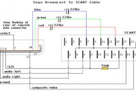 scart to vga circuit diagram wiring diagram