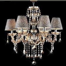 Vintage Glass Chandelier 40w Modern Contemporary Classic Vintage Crystal Electroplated