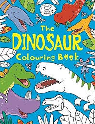 dinosaur colouring book amazon uk natural history museum