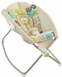 Infant Rocking Chair Infant Rocker Bouncer Sleeping Sleeper Rocking Bed Playing Seat