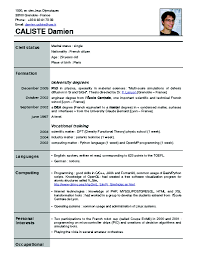 Latest Resume Format 28 Resume Sample New Format New Resume Format For Freshers