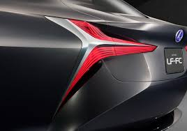 lexus lf lc vision gt hydrogen powered lexus lf fc concept previews next gen ls flagship