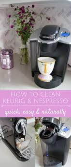 How To Clean & Descale A Keurig Coffee Maker Pinterest