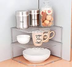 shelves creative shelves countertop corner shelf countertop