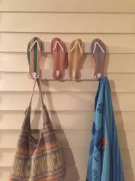 flip flops towel rack beach towel rack beachy towel rack