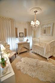 Chandelier Baby Room Offwhite Baby Room Furniture Decor With Chandelier Cowhide Rug
