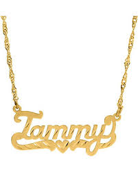 personalized sterling name necklace images Summer 39 s hottest sales on personalized custom name necklace script