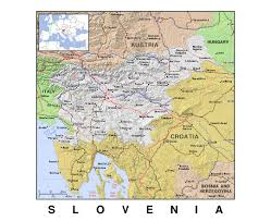 Novi Michigan Map by Maps Of Slovenia Detailed Map Of Slovenia In English Tourist