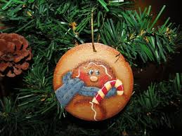 301 best painted gingerbread ornament images on pinterest