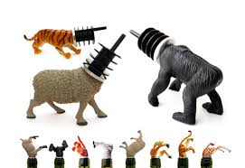 cool wine gifts animal wine stopper gifts by der horst gift