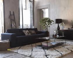 idee deco salon canape noir canapé h et h idee deco salon canape noir ides de dcoration