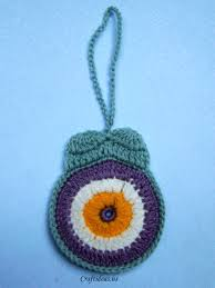 crochet owl ornament tutorial craft ideas