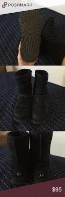 s ugg australia black joey boots