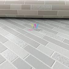 holden oblong tile pattern wallpaper fauxeffect kitchen bathroom 89194