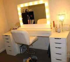 vanity desk with lights large size of bedroom magnificent light up