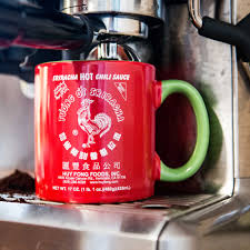 Crazy Cool Mugs Large 20 Ounce Huy Fong Foods Sriracha Mug Sriracha2go