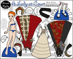 tudor writing paper margot archives paper thin personas a lady at court in color printable tudor paper doll
