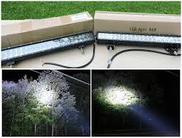 Radius Led Light Bar by Cree Vs Osram Led Light Bar Comparison Youtube