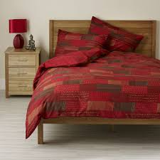 Patchwork Duvet Covers Duvet Cover Red Home Duvet Cover Red Be Careful To Apply It