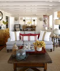 Living Room Table Decor by Beach And Coastal Living Room Decor Ideas Comfydwellingcom Rustic