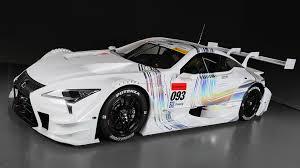 lexus v8 race car sharp edged 2017 lexus lc 500 ready to race in japan