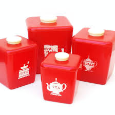 Vintage Kitchen Canister Set by 100 Red Canister Sets For Kitchen Bamboo Fiber Kitchen