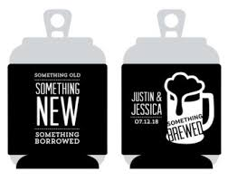 something something new something borrowed something brewed something koozie etsy
