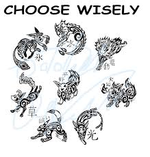 tribal style choose wisely poster wip by tatta kasame deviantart