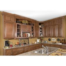 Overstock Kitchen Cabinets Honey Stain Chocolate Glaze Wall Kitchen Cabinet 30 X 42 Free
