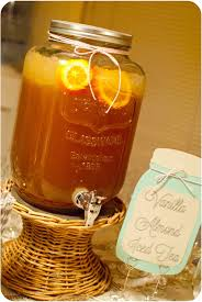 thanksgiving pottery barn thanksgiving beverage vanilla almond iced tea sweetpea lifestyle