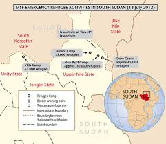 South Sudan Map Green Kordofan Home