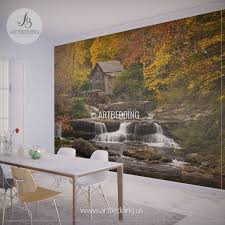 wonderful forest scene wall mural home design forest scene wall mural forest scene wall mural