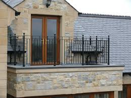 gorgeous grey roof tile with stone accent wall ideas also