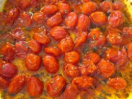 roasted tomatoes marinated and roasted cherry tomatoes recipe