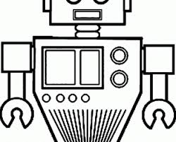 science coloring activity sheets coloring activity sheets robot