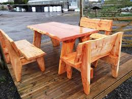 Rustic Outdoor Patio Furniture Cedar Patio Furniture With Diy Style Cool House To Home Furniture