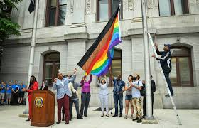 Sexuality Flags New Rainbow Flag Irks Lgbtq Community