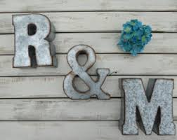 metal letters wall decor wall metal letter galvanized captivating 80 metal letters wall decor inspiration design of best