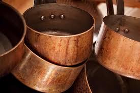 batterie de cuisine en cuivre a vendre comment chiner des casseroles en cuivre