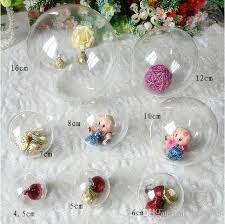 new 4cm 5cm 6cm 7cm 8cm 10cm 12cm 15 6cm clear plastic ball candy