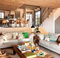 cozy interior design warm and cozy spanish interior with beautiful outside view