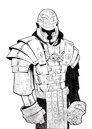 roman soldier inked by gavinmichelli on deviantart