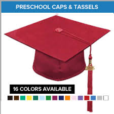 preschool graduation caps preschool graduation cap and gown packages gradshop