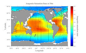 Ocean Maps Noaa Led Research Identifies Areas Of Global Ocean Most Vulnerable