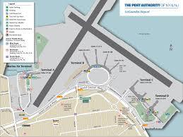 Lga Terminal Map Aeropuerto Laguardia Traslados Y Transporte Autobús Taxi Y Coche