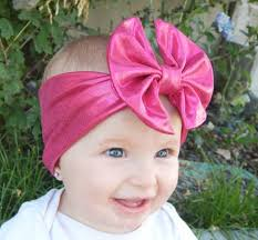 baby girl headwraps boutique baby knotted hair bow headband headwraps